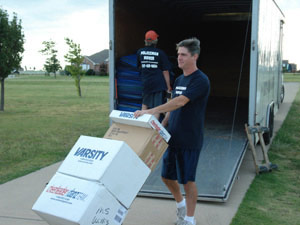 Southlake Texas Moving Company - professional movers in the Dallas-Fort Worth Metroplex specializing in residential Southlake moving
